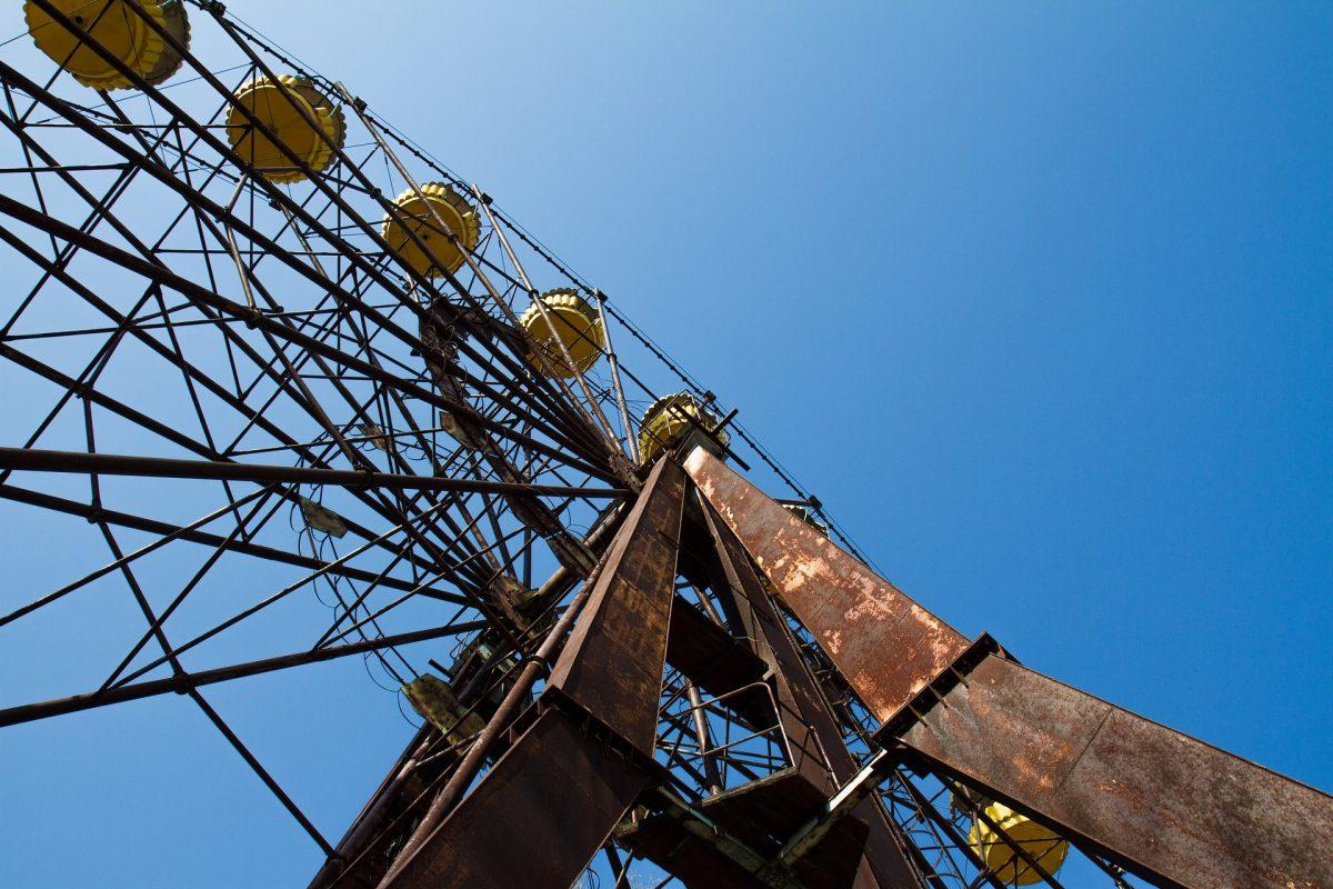 Solar Power Plant in Tschernobyl