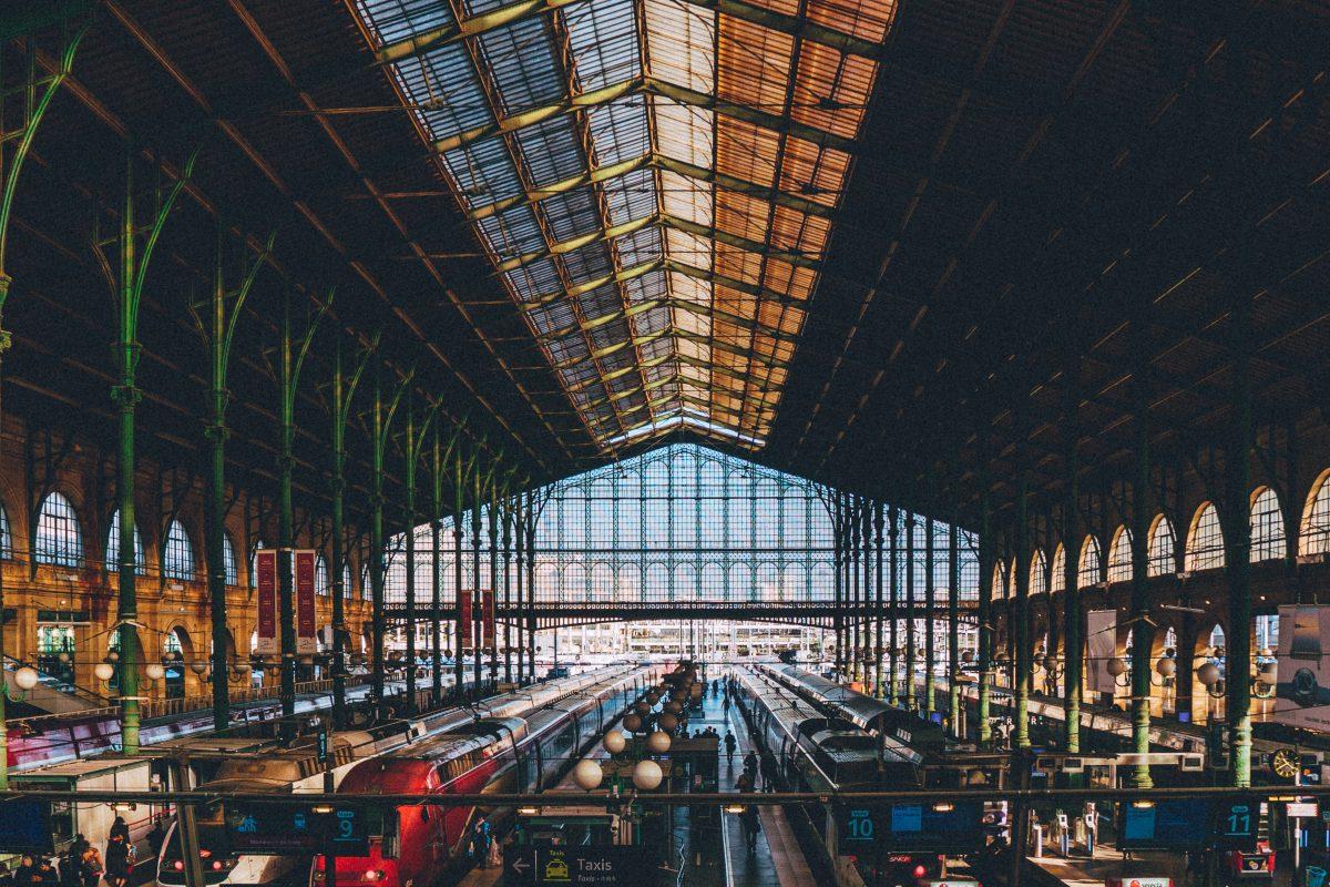 Bahnhof Gare du Nord in Paris