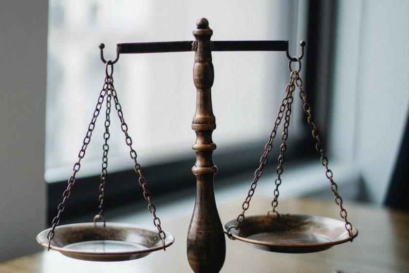 Die Waage der Gerechtigkeit